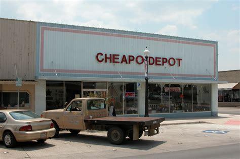 cheapo depot  brownwood  portal  texas history