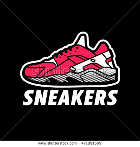 sneaker logos shoe logo stock images royalty free images vectors