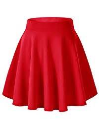 amazon co uk red skirts women clothing