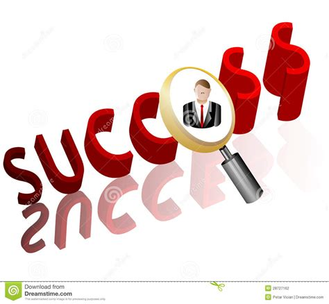 Business Search Success Business Search Employee Icon Stock Photography