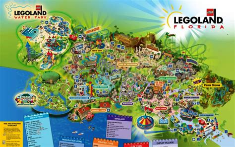 printable map legoland windsor legoland map meet the magic