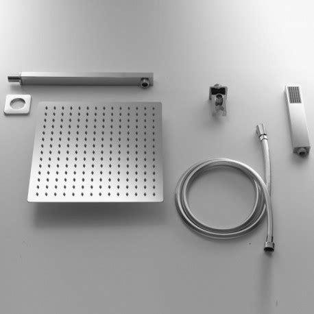 set doccia set doccia quadrato con soffione 30x30 cm