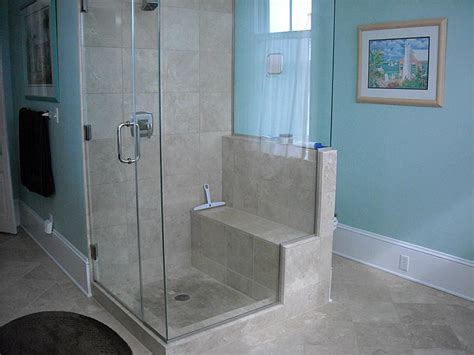 walk shower built seat car dma homes 11630