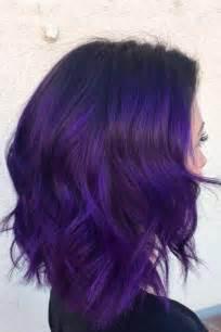 purple hair color for hair 25 best purple hair ideas on
