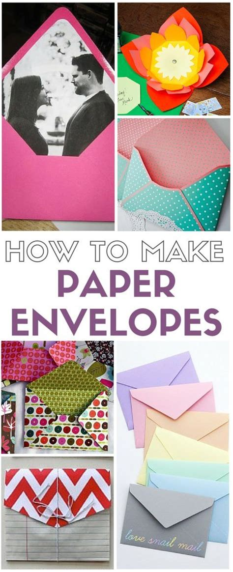 Make Your Own Color Paper - how to make paper envelopes coloring small envelopes