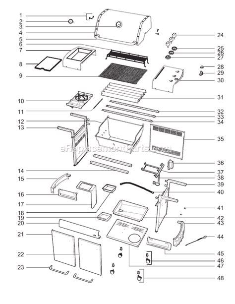 weber genesis parts diagram weber 3780001 parts list and diagram 2007