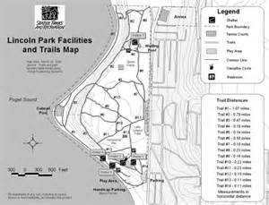 West Seattle Parks Map by Lincoln Park Seattle Parks Hikes