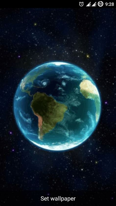 earth apk android earth 3d live wallpaper free for android mobile phone