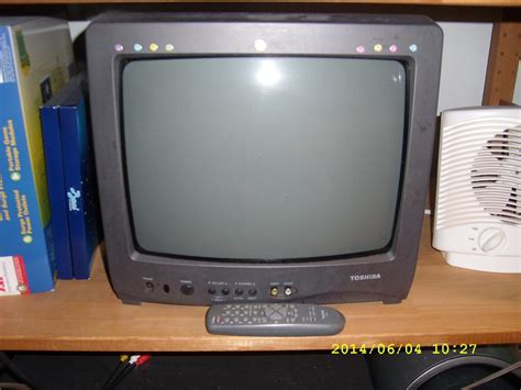 Tv Panasonic 14 Inch Tabung fs 14 quot color crt tv and panasonic thermal fax machine nepean ottawa