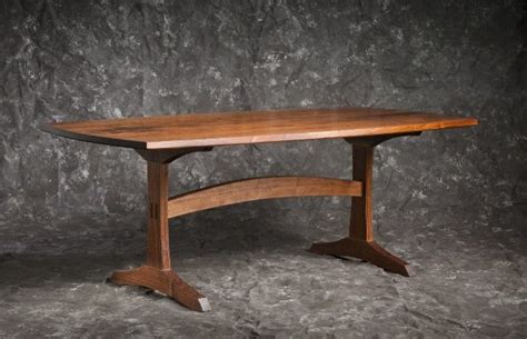 Handmade Trestle Tables - handmade trestle table by brian boggs chairmakers