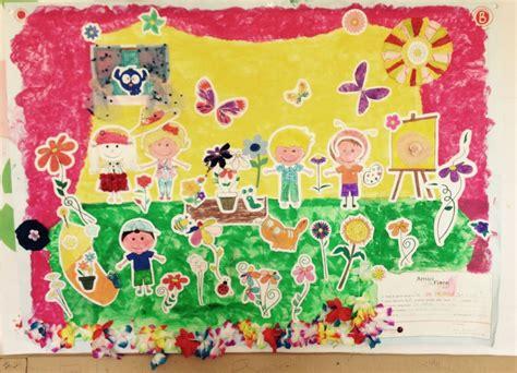 un mondo di fiori in un mondo di fiori amici in fiore