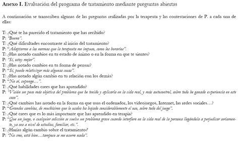 preguntas de entrevista cognitiva tratamiento cognitivo conductual de la adicci 243 n a