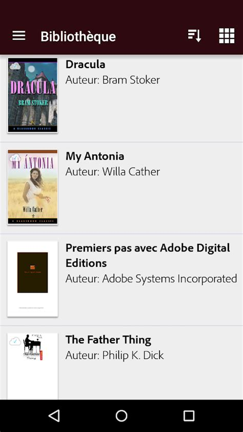 adobe digital editions android adobe digital editions applications android sur play