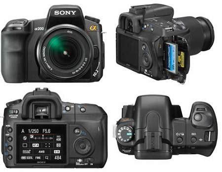 Lensa Sony A200 scientists only 10 kamera slr terbaik untuk pemula