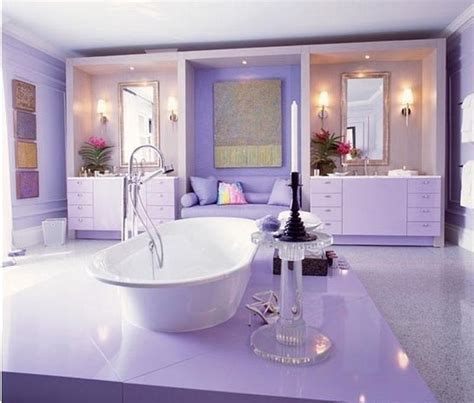 lavender bathroom 15 charming purple bathroom ideas rilane