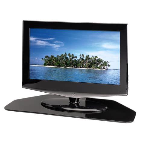 auf fernseher hama tv drehteller schwarz de elektronik