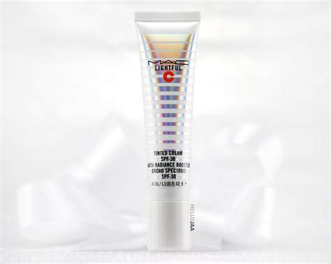 mac lightful moisturizer spf 30 mac lightful c tinted spf 30 with radiance booster