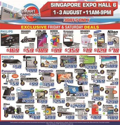 where to buy capacitors in singapore smart electronics fair august 2014 happening this weekend great deals singapore
