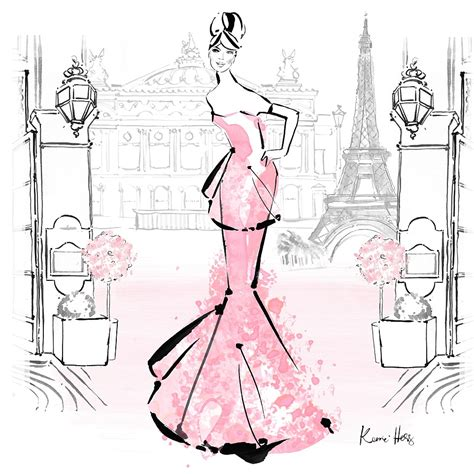 picture illustration kerrie hess the australian illustrator at the top of the fashion world daily mail online