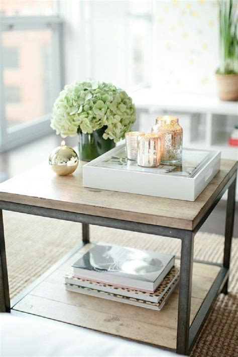 how to decorate your coffee table with grace and style decorating a square coffee table 4714