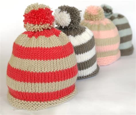 simple bobble hat knitting pattern easy baby bobble hat knitting pattern by sproglets kits