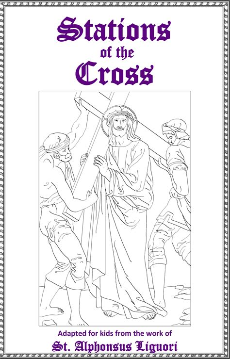 coloring book pages stations of the cross stations of the cross excellent free printable booklet