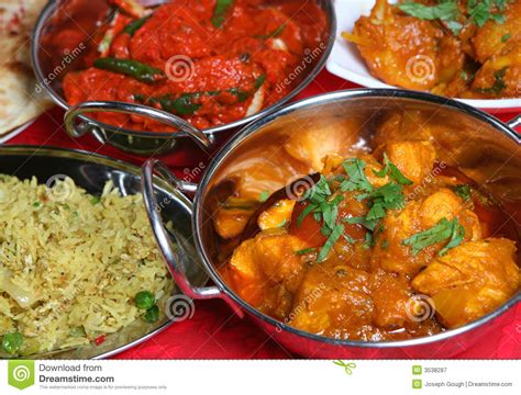 indian curry dinner indian curry meal food stock image image of spice