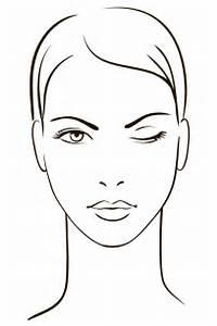 Bocetos De Rostros Para Maquillar  Imagui