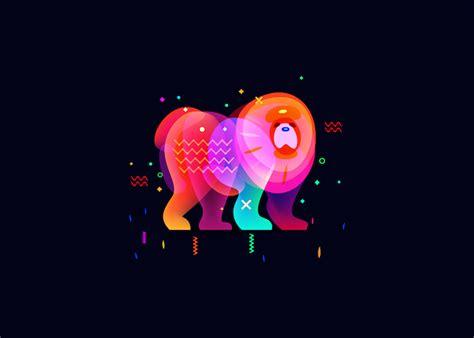 vibrant dream  illustrations   gradients  blend modes