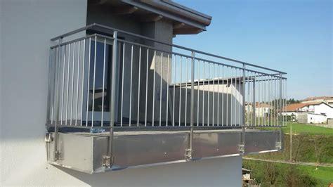 ringhiera acciaio prezzi parapetti per balconi in acciaio inox apeprest