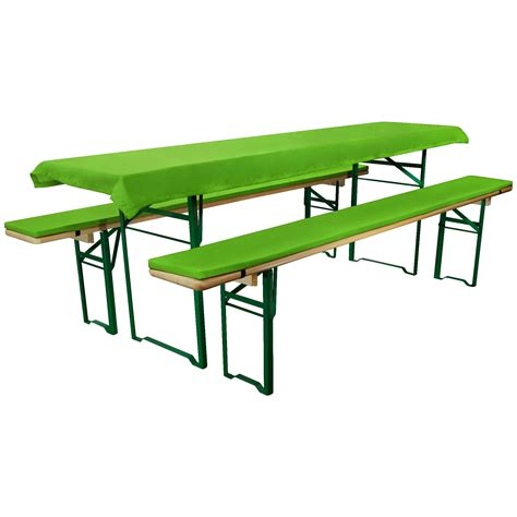 xs bench cover set xs for marquee set beer bench cushion tablecloth