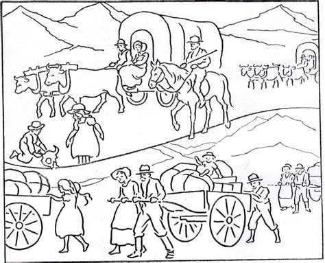 wagon coloring pages coloring home