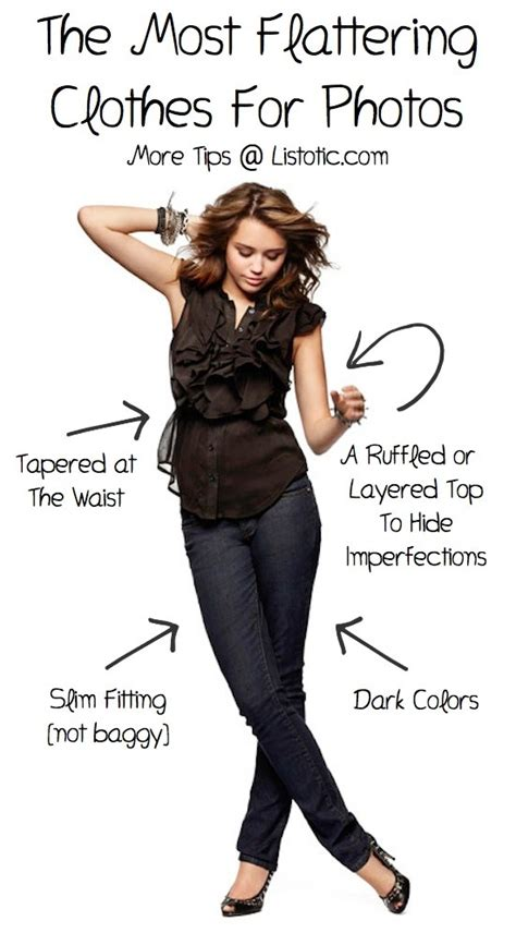 Tips To Find The Most Flattering Clothes For Your Type the most flattering clothes for photos trusper