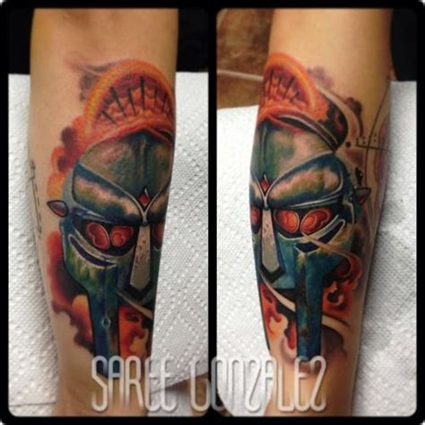 doom tattoo 13 best mf doom