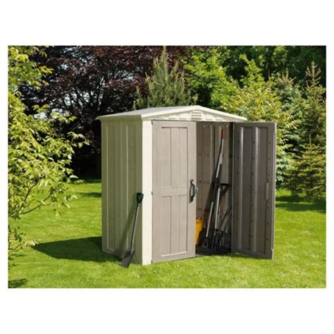 buy keter 6 x 3 apex shed from our plastic sheds range tesco