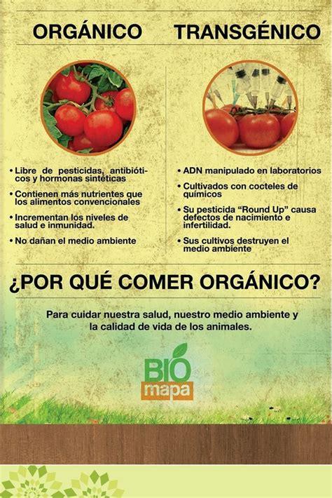 por  elegir lo natural los alimentos organicos elevan la calidad de vida esta comprobado