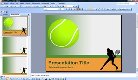 Free Sport Powerpoint Templates Sports Powerpoint Templates Microsoft