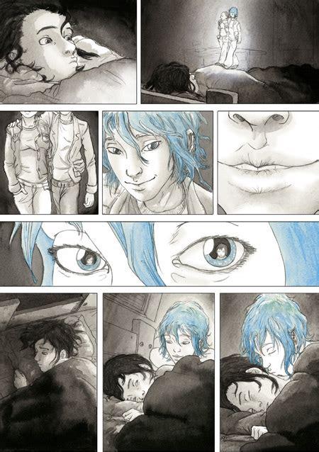 blue sexually graphic cannes 2013 julie maroh auteure de 171 le bleu est une