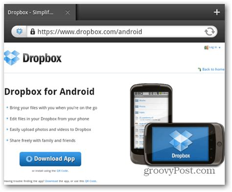 dropbox for android install dropbox on your kindle