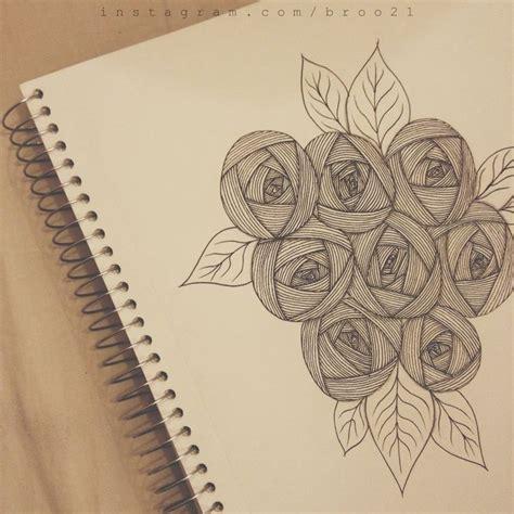 zentangle pattern rose zentangle rose doodling pinterest