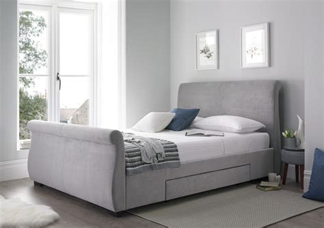 how high should my bed be olivia upholstered sleigh bed steel grey upholstered