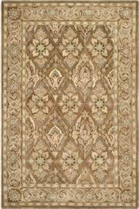 Safavieh anatolia an587c brown beige area rug