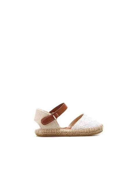 zara shoes kid jute and crochet sandal shoes baby 3 36 months