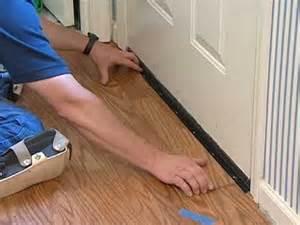 Airbase Carpet And Tile Laminate Flooring Installation Undercutting Door Frames