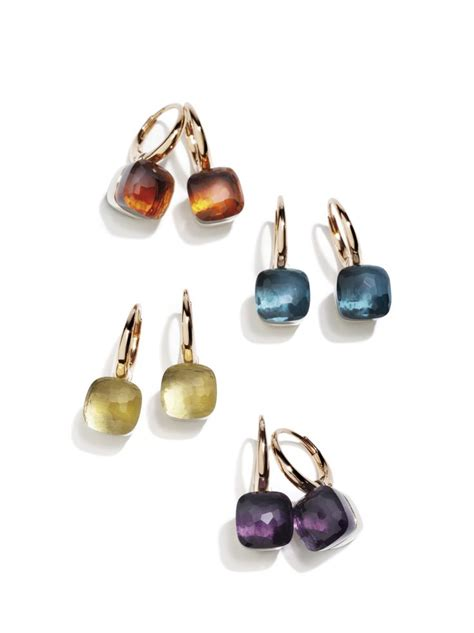 pomellato earrings pomellato nudo earrings always jewelry