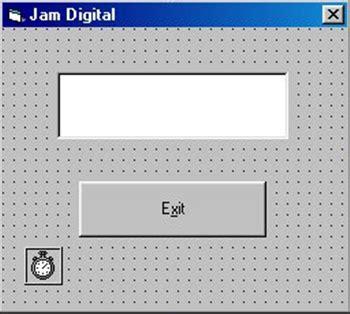 membuat jam digital menggunakan netbeans cara membuat jam digital dengan menggunakan vb ayti copast