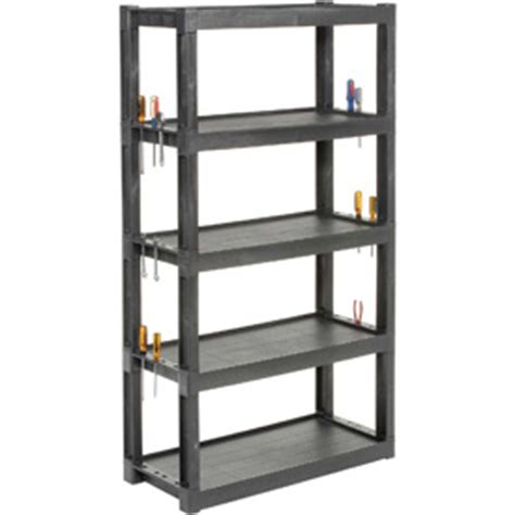 heavy duty plastic shelving plastic shelving at globalindustrial