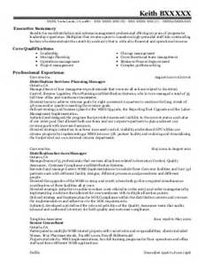 director of building services landscape mainten resume