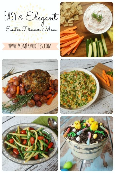 easy elegant dinner menus easy elegant easter dinner menu mom favorites