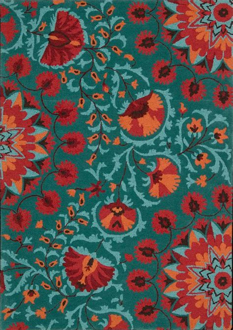 orange and turquoise rug turquoise accent colors and the persians on
